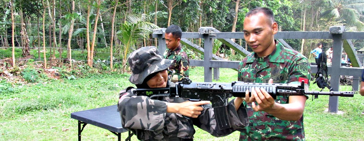 Kegiatan Latihan Dasar Disiplin Korp (LDDK) SMK Negeri 3 Pandeglang